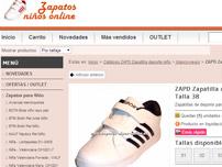 Zapatos ni�o online