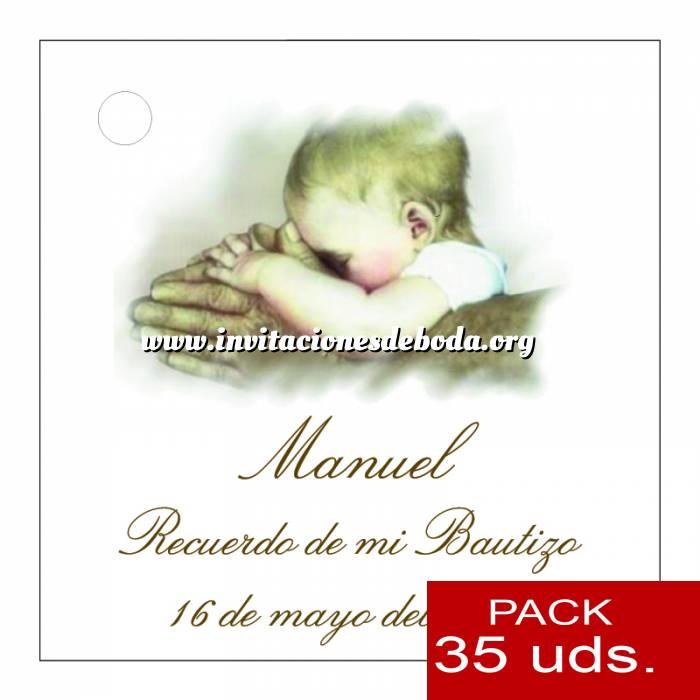 Imagen Etiquetas personalizadas Etiqueta Modelo C26 (Paquete de 35 etiquetas 4x4)
