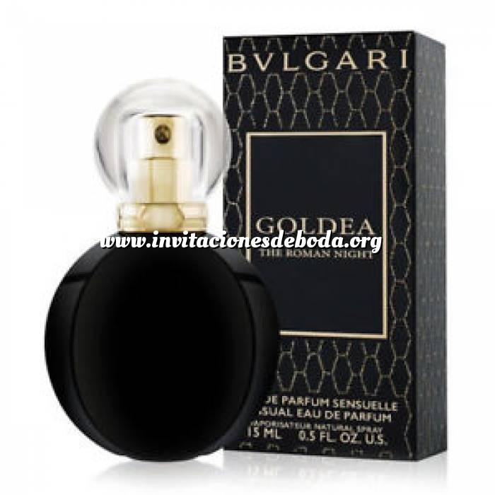 Imagen -Mini Perfumes Hombre Bvlgari Goldea The Roman Night EDP VAPO by Bvlgari 15ml. (Últimas Unidades)