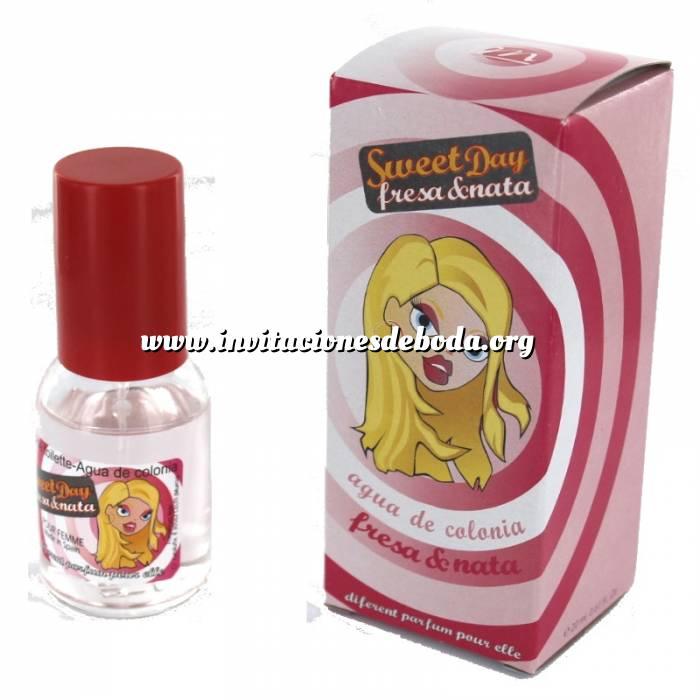 Imagen -Mini Perfumes Mujer Fragancia dulce Sweet Day Eau de toilette - Fresa y Nata 20ml. (áltimas Unidades)