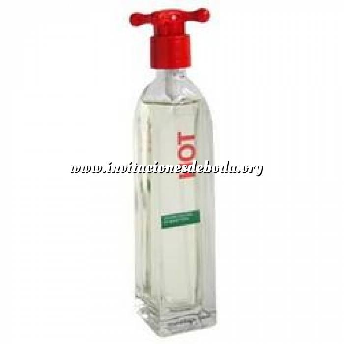 Imagen -Mini Perfumes Mujer Hot Eau de Toilette For Women by Benetton 4ml. SIN CAJA (Ideal Coleccionistas) (Últimas Unidades)