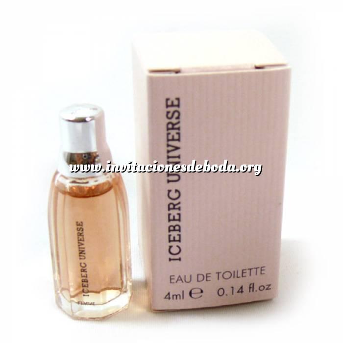 Imagen -Mini Perfumes Mujer Iceberg Universe Eau de Toilette for Woman 4ml. (Solo coleccionistas) (Ideal Coleccionistas) (Últimas Unidades)