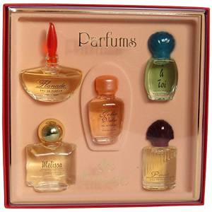 EDICIONES ESPECIALES - Set de miniatura -LES PARFUMS DE FRANCE-, 28.8 ML (Últimas Unidades)