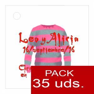 Etiquetas impresas - Etiqueta Modelo D16 (Paquete de 35 etiquetas 4x4)
