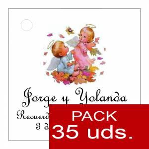 Etiquetas impresas - Etiqueta Modelo D24 (Paquete de 35 etiquetas 4x4)