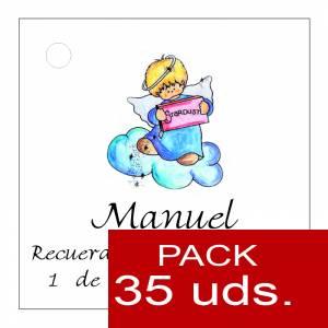 Etiquetas impresas - Etiqueta Modelo D28 (Paquete de 35 etiquetas 4x4)