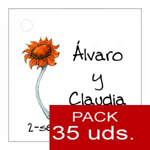 Etiquetas impresas - Etiqueta Modelo F06 (Paquete de 35 etiquetas 4x4)