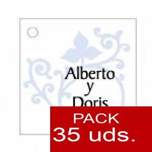 Imagen Etiquetas personalizadas Etiqueta Modelo C14 (Paquete de 35 etiquetas 4x4)