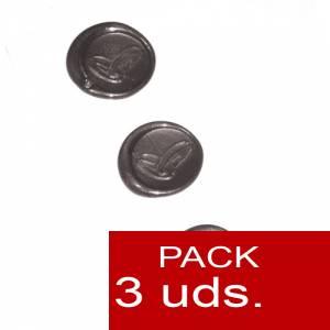 Sellos adhesivos - Sellos de lacre Adhesivos- Anillos de boda plateados 3 uds (Últimas Unidades)