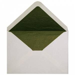 Sobres Forrados - Sobre Beige c5 forro fantasía verde (Últimas Unidades)