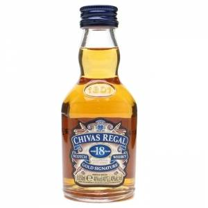 Whisky - Whisky Chivas Regal 18 años Gold Signature 5cl