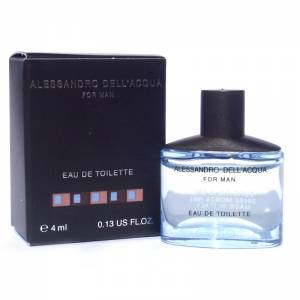 -Mini Perfumes Hombre - Alessandro Dell Acqua Eau de Toilette For Man 4ml. (Últimas Unidades)