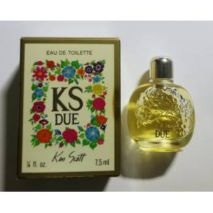-Mini Perfumes Mujer - KS DUE By Ken Scott- Eau de Toilette-7.5 ml (Últimas Unidades)