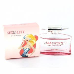 -Mini Perfumes Mujer - Sex in the city - Fantasy Eau de Parfum 7,5 ml. by InStyle (IDEAL COLECCIONISTAS) (Últimas Unidades)