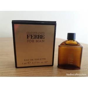 -Mini Perfumes Mujer - Gianfranco Ferre For Man 5ml. (Ideal Coleccionistas) (Últimas Unidades)